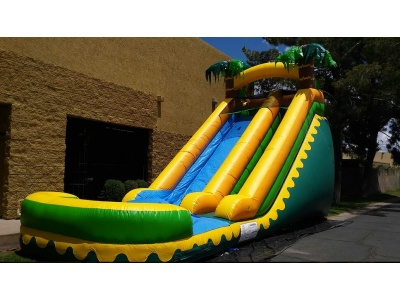 18_foot_yellow_waterslide_with_pool